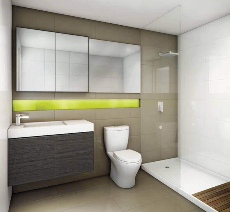 357 King West bathroom