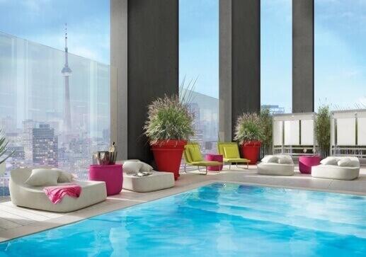 357 King West pool