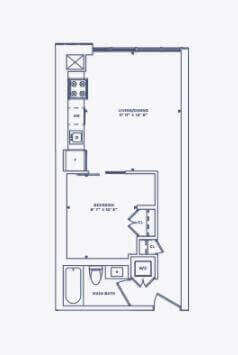 Floor Plan for Suite 1