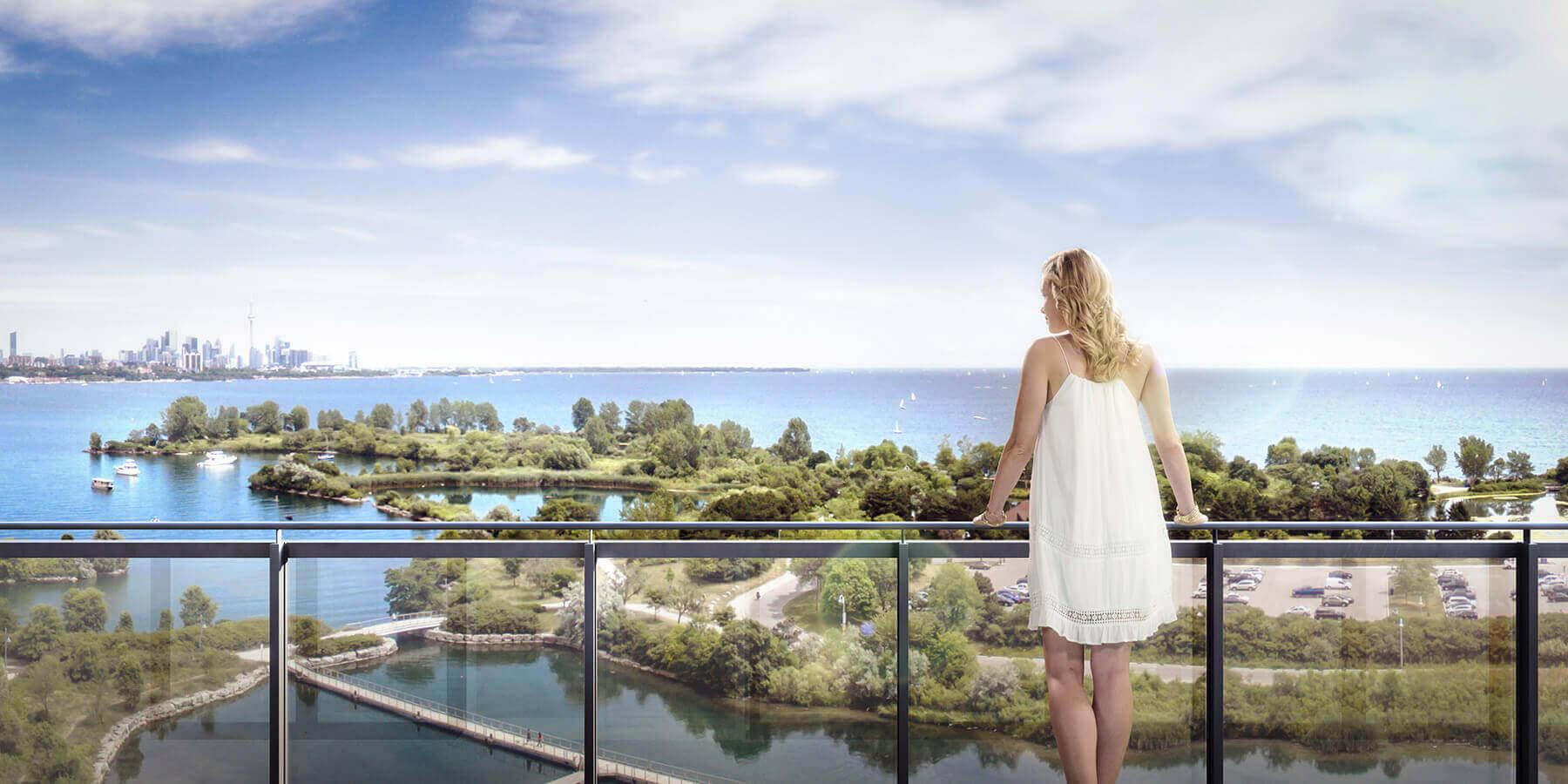 Views from Eau Du Soleil Etobicoke