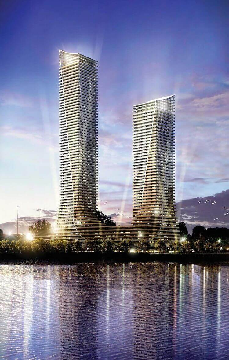 Night Rendering of Eau Du Soleil Etobicoke