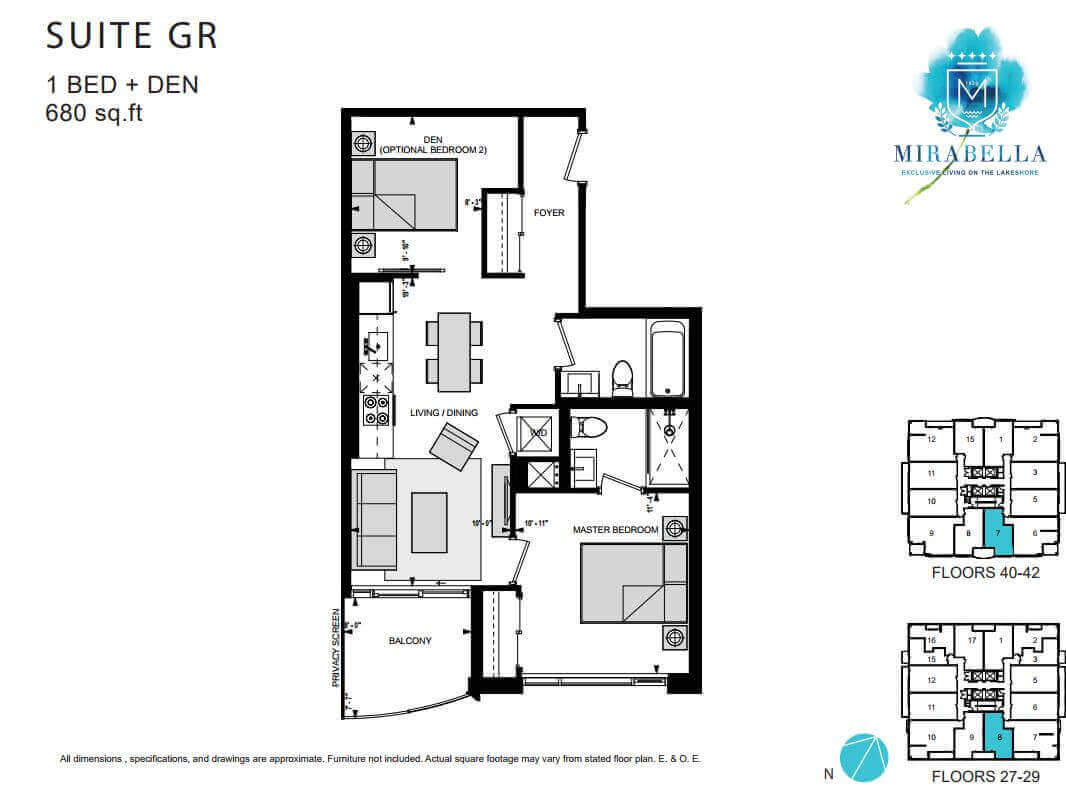 Mirabella Suite GR Floor Plan