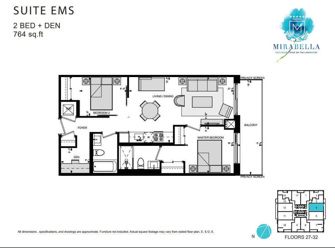 Mirabella Suite EMS Floor Plan