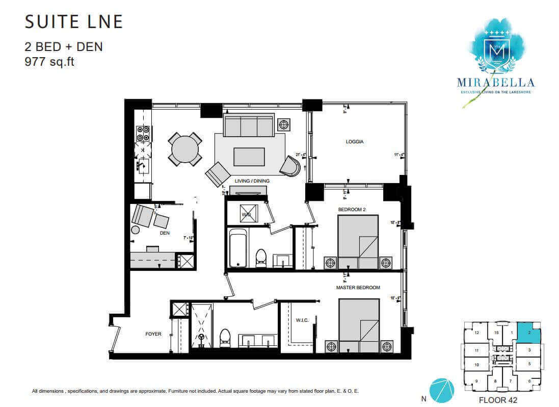 Mirabella Suite LNE Floor Plan