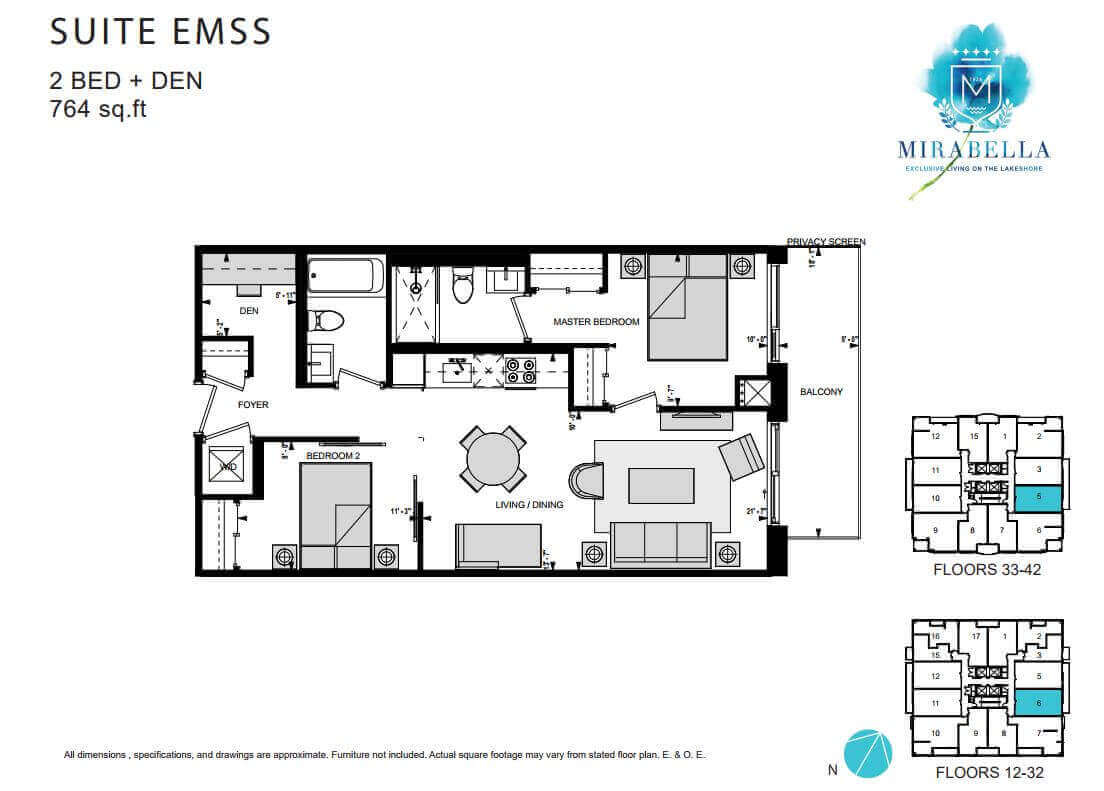 Mirabella Suite EMSS Floor Plan