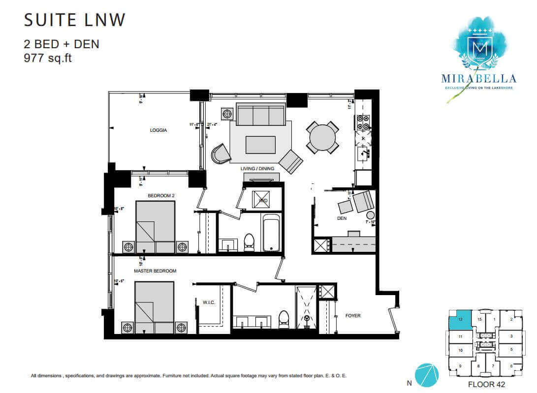 Mirabella Suite LNW Floor Plan
