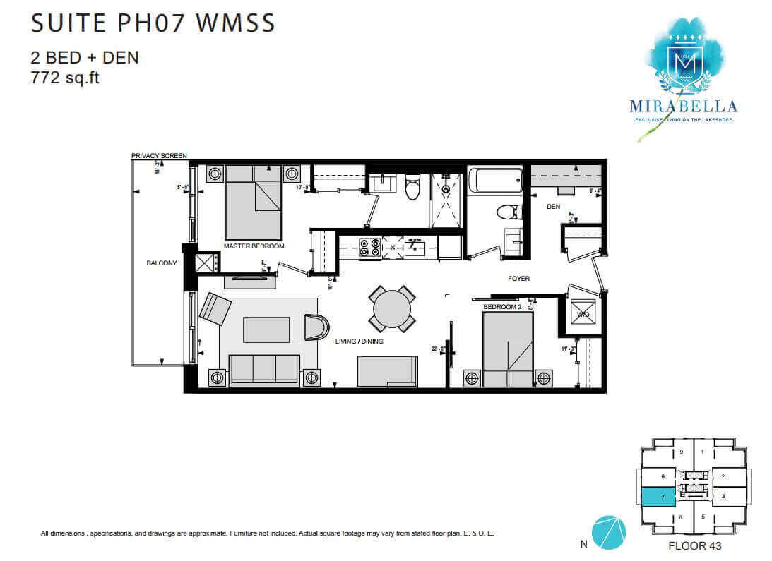 Mirabella Suite PH7 WMSS Floor Plan