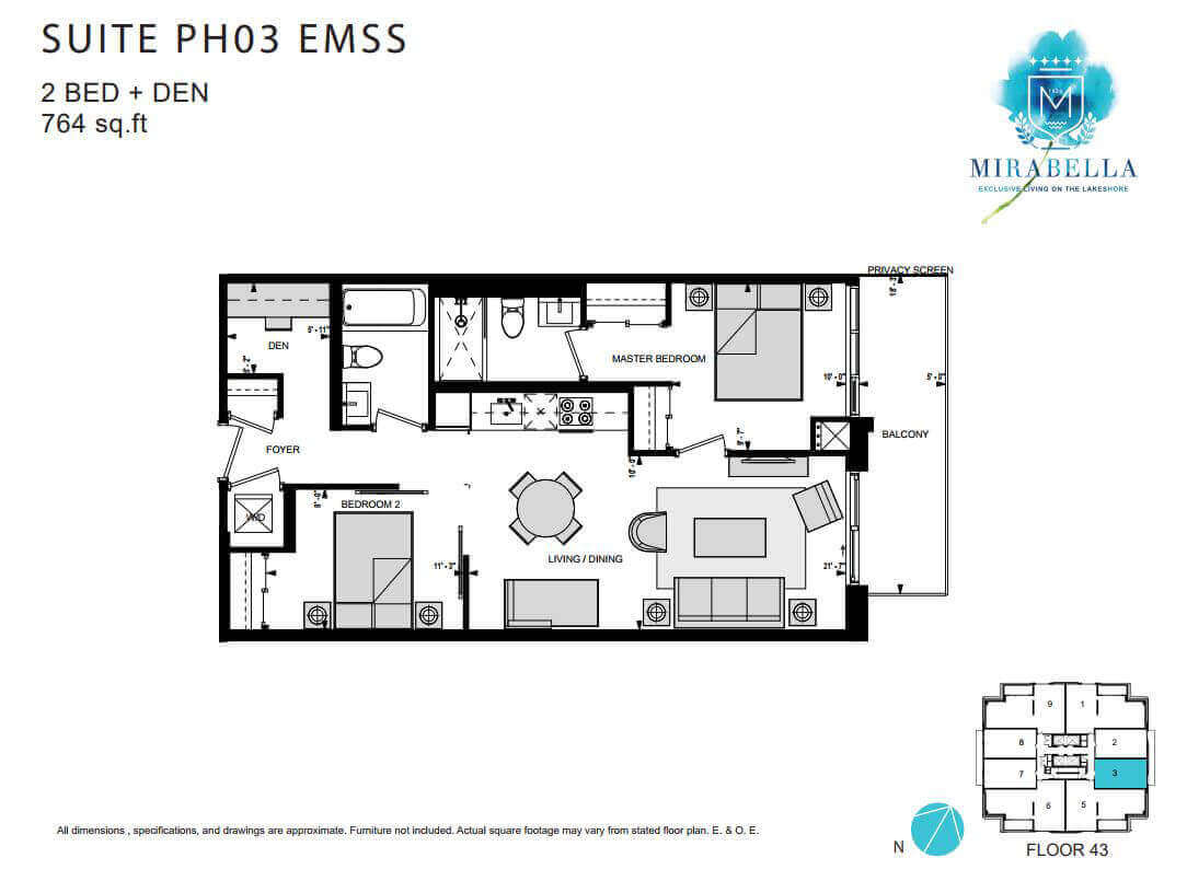 Mirabella Suite PH3 EMSS Floor Plan