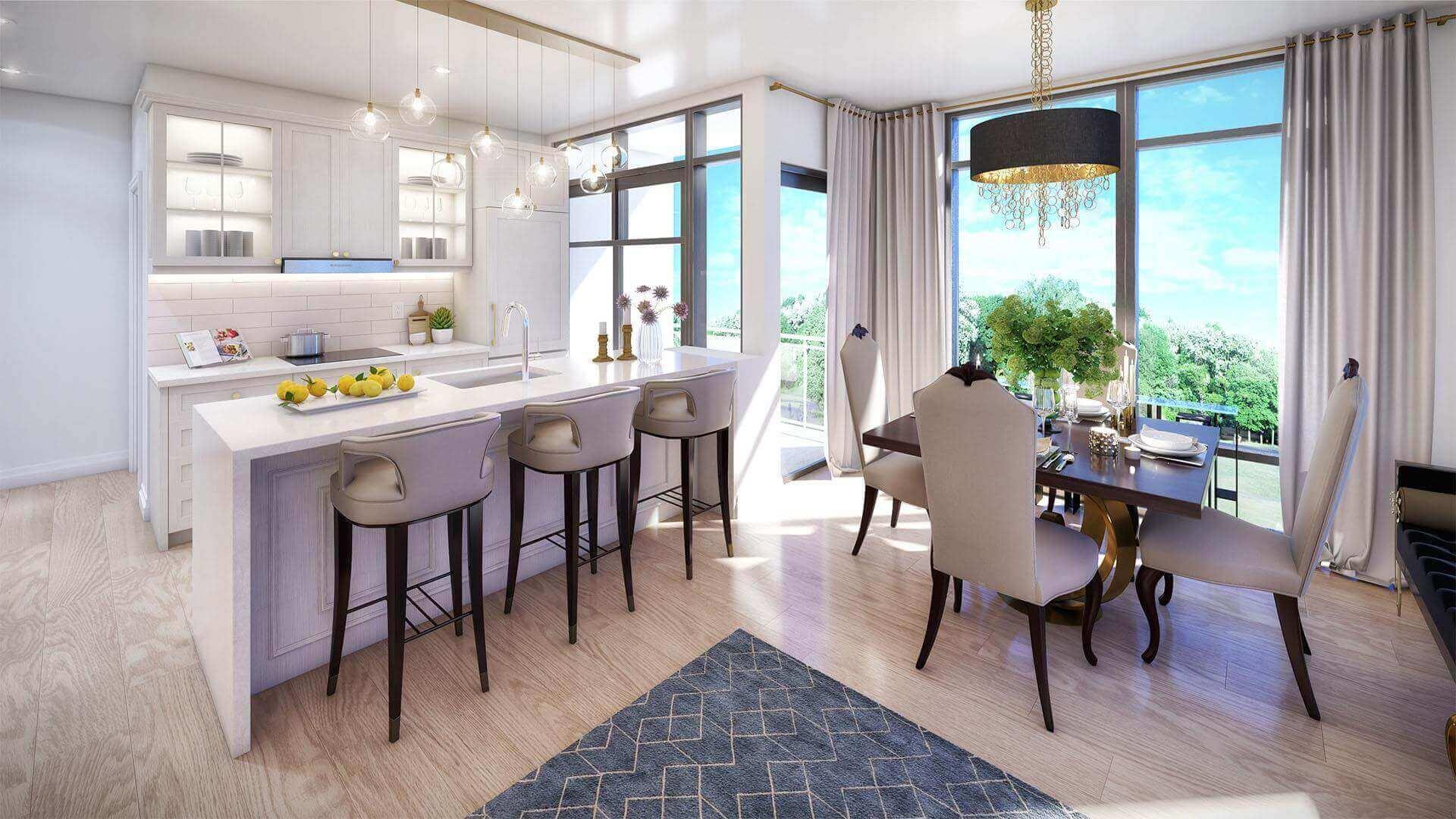 Edge Towers Kitchen