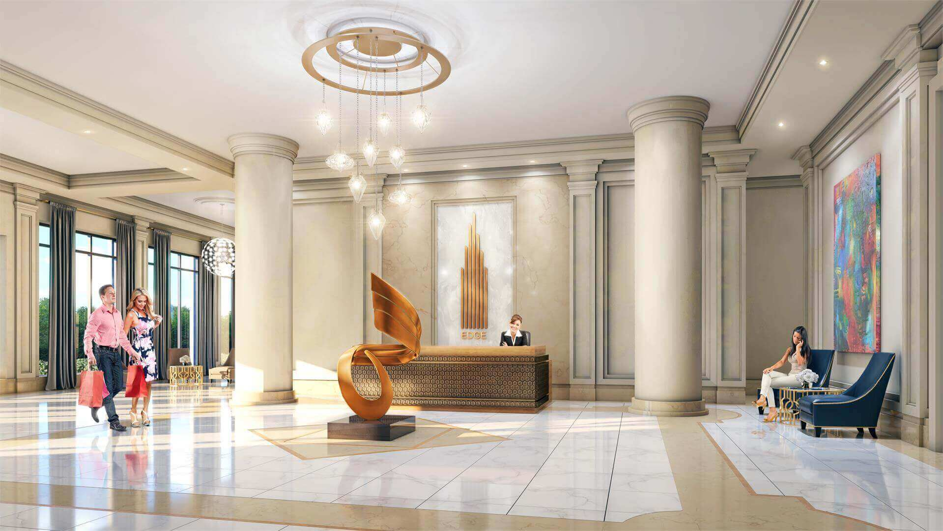 Edge Towers Lobby 2