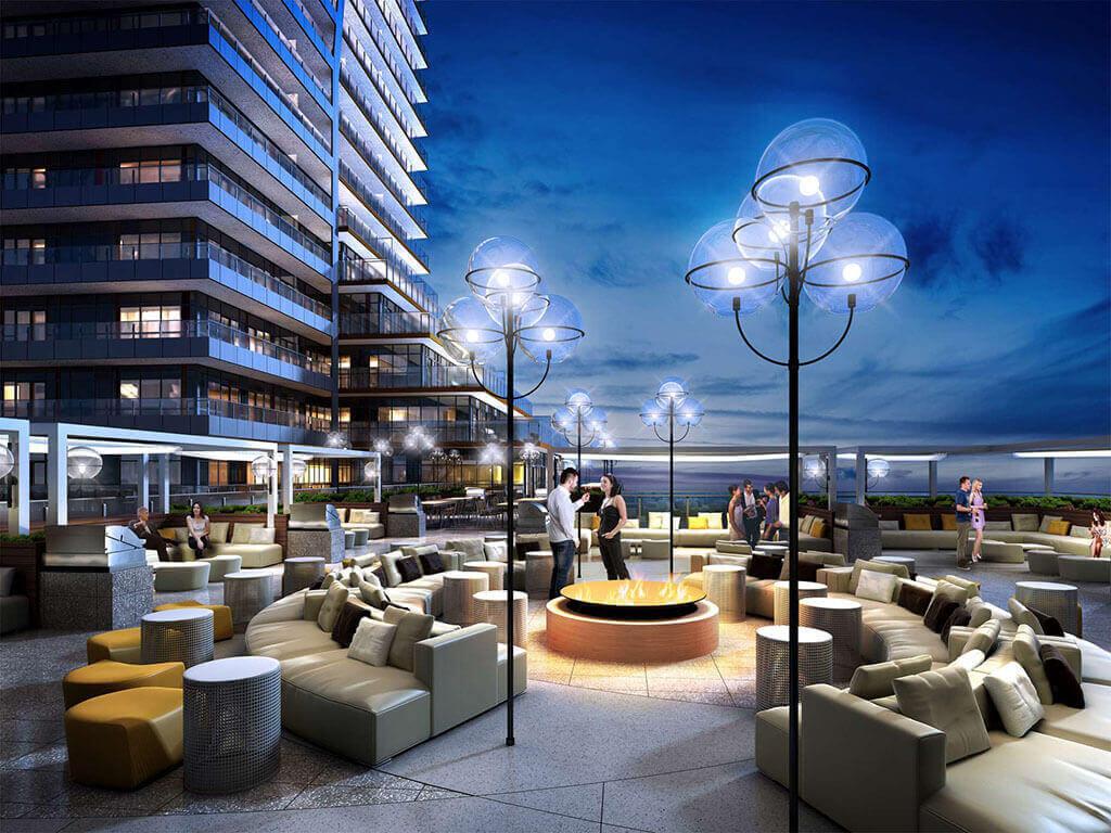 Rooftop Terrace Eau Du Soleil