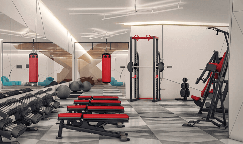 Playground Condos Exercise Fitness Room Gym
