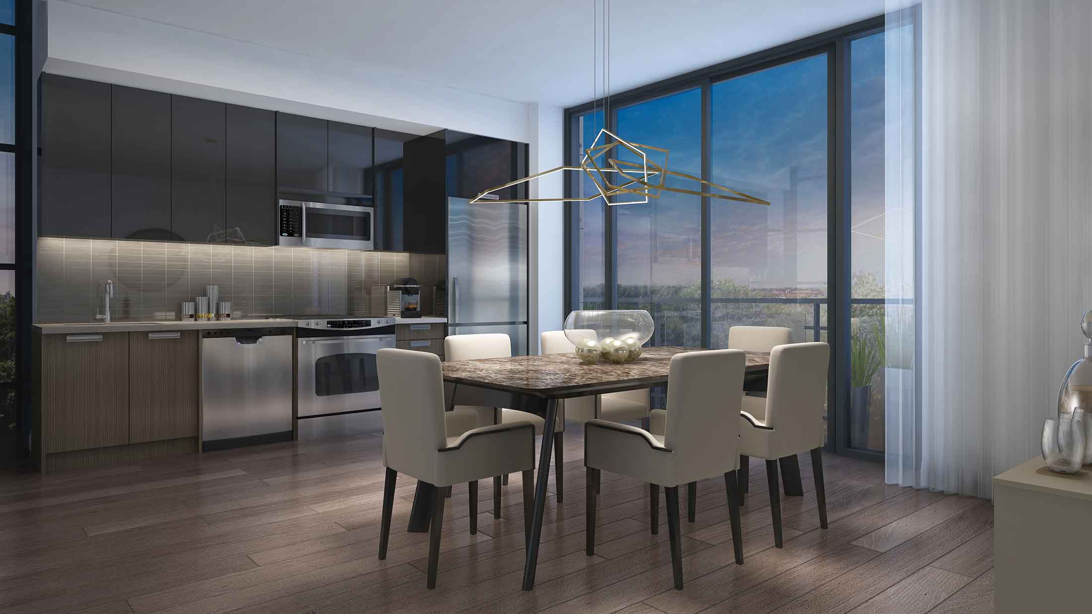 Highlight Condos Mississauga Interior Rendering