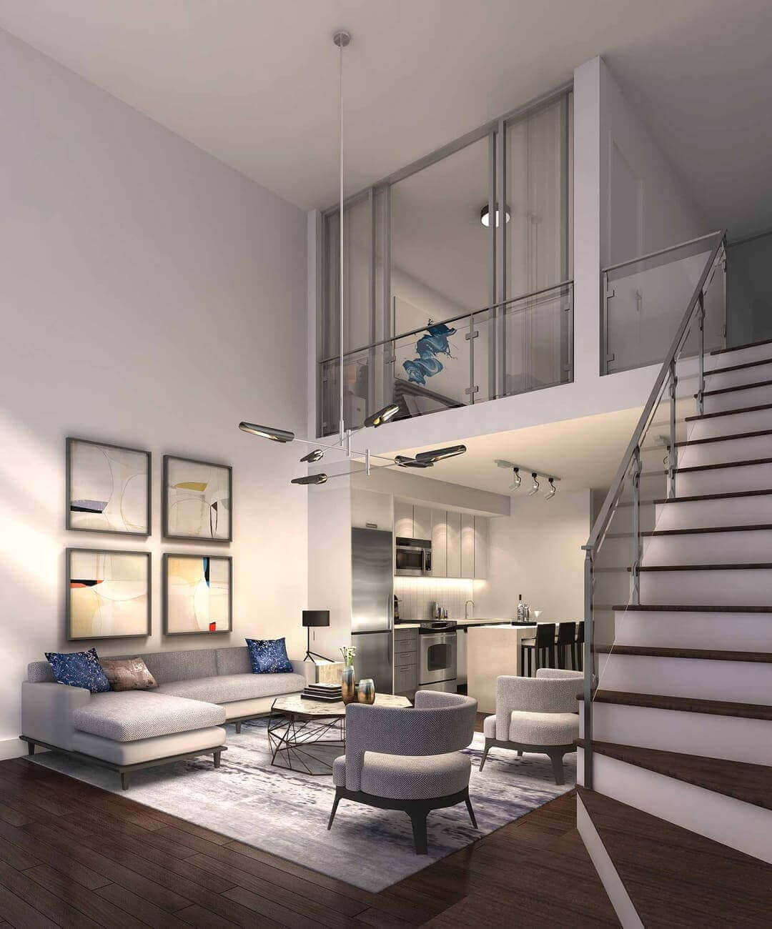 Highlight Condos Mississauga Loft Rendering