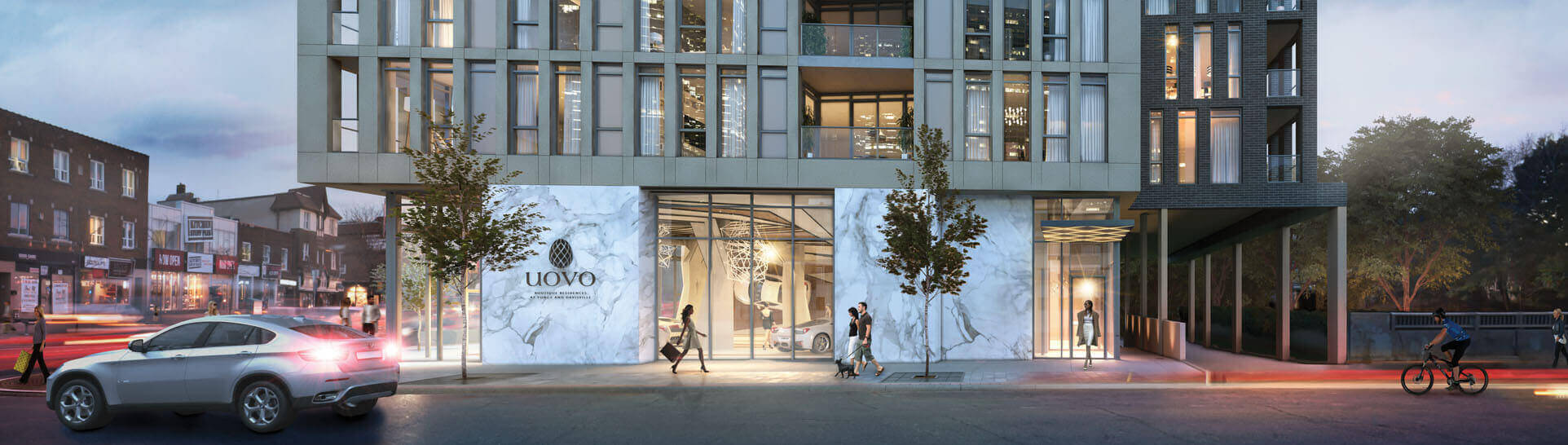 Uovo Condos Boutique Residences Rendering